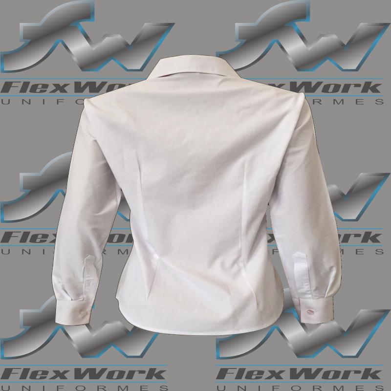 Camisete social feminina uniforme
