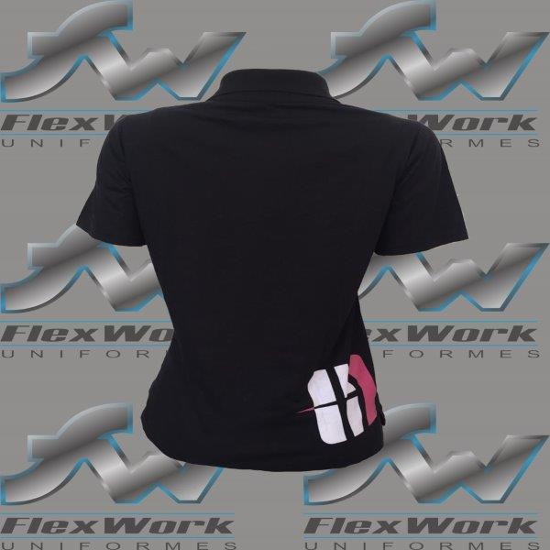 Polo uniforme feminino